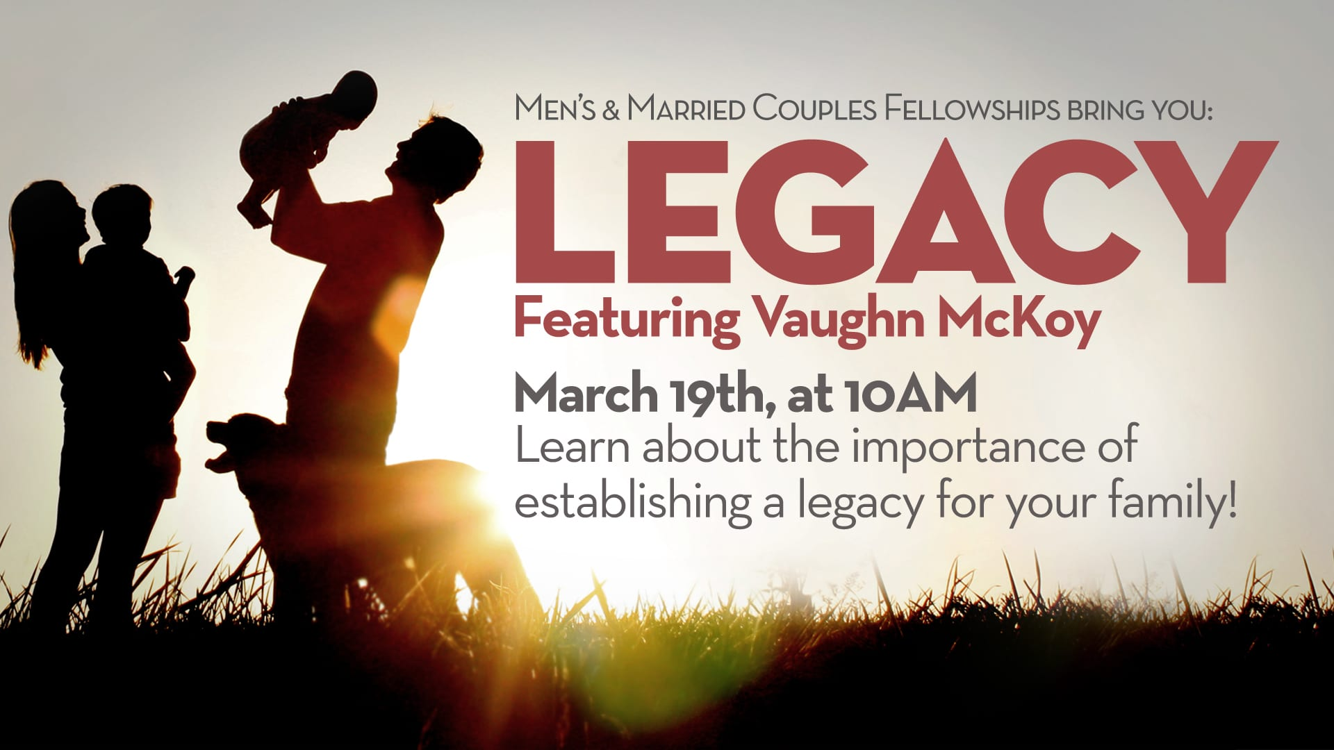 Legacy featuring Vaughn McKoy